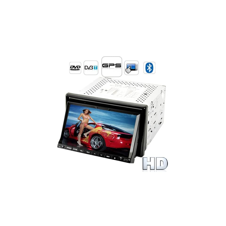 Turismo G1 High Def Touchscreen Car DVD Player with GPS + DVB T