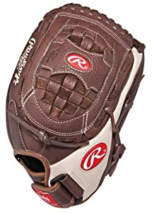 Rawlings Champion Series 12.5-inch Outfield Fastpitch Glove, Right-Hand Throw (C125FP)