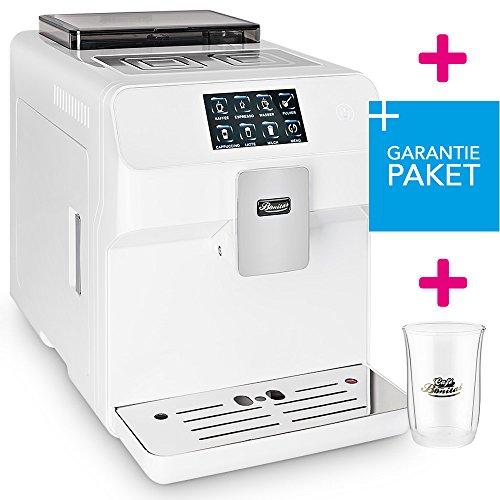 ☆ONE TOUCH☆ 50€ sparen✔ Kaffeevollautomat + RundumSorglosPaket (Garantiepaket)✔ 1 Thermoglas Gratis✔ CAFE BONITAS✔ KingStar White✔ Touchscreen✔ Timer✔ 19 Bar✔ Kaffeeautomat✔ Latte Macchiato✔ Kaffee✔ Espresso✔ Cappuccino✔ heißes Wasser✔ Milchschaum✔ thumbnail