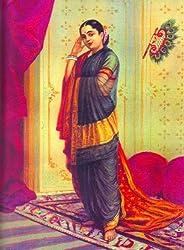 Vasantasena(Unframed Canvas Prints) -Raja Ravi Varma Paintings -24 X 18