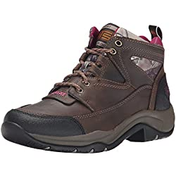 Ariat Women's Terrain Hiking Boot, Pink Multi/True Timber