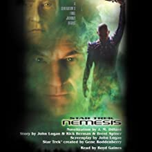 Star Trek: Nemesis (Adapted) Audiobook by J.M. Dillard Narrated by Boyd Gaines