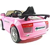 Kids Ride On - 12V Audi Style Sports Saloon (Pink) 2014 Model!