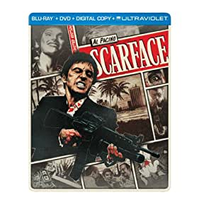 Scarface (1983) (Steelbook) (Blu-ray + DVD + Digital Copy + UltraViolet)