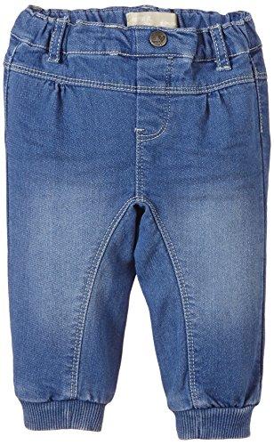 NAME IT Baby - Mädchen Jeanshose Hannelise Nbcu Sweat Dnm Reg Pant Wr 215, Gr. 68, Blau (Medium Blue Denim)