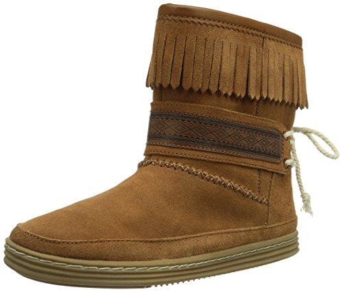 Roxy Venise Leather J Boot Blk - Botas de cuero mujer, Braun (RUST/RUS), 36