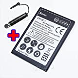 High Capacity 3300mAh Extended Slim Battery for Samsung Galaxy J1 Ace 4G LTE SM-J110M Phone With Additional Valueable Accessory (See Picture) (Color: as shown in picture)