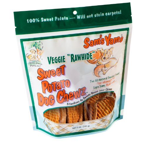 sam 39 s yams veggie rawhide sweet potato dog treats 5 ounce. Black Bedroom Furniture Sets. Home Design Ideas