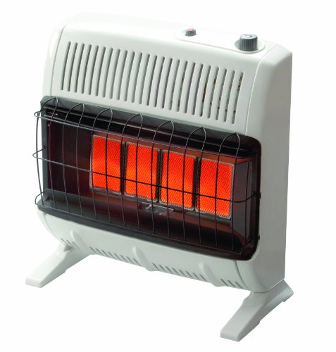 Mr. Heater 30,000 BTU Propane Radiant Vent Free Heater #MHVFR30TBLP (Wall Mount Indoor Propane Heater compare prices)
