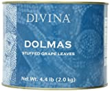 Divina Dolmas Stuffed Grape Leaves, 4.4 lb.  Can