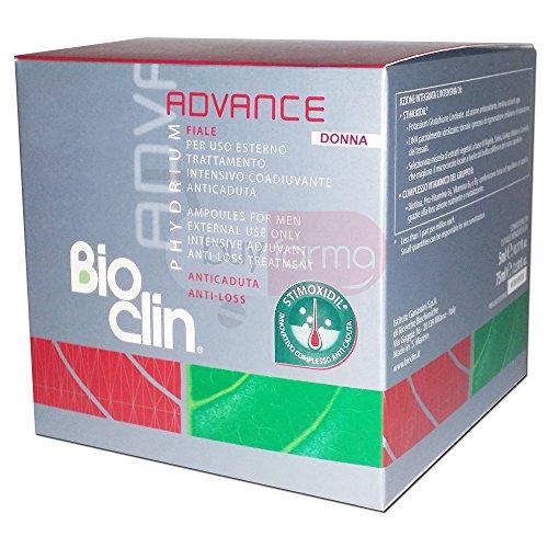 Bioclin Phydrium-Advance Fiale Donna Trattamento Intensivo Anticaduta 15 Fiale