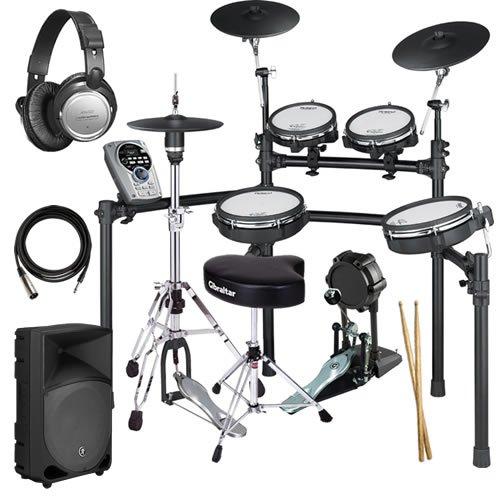 Roland Td-15Kv V-Drums Complete Bundle W/ Monitor Speaker & Hardware