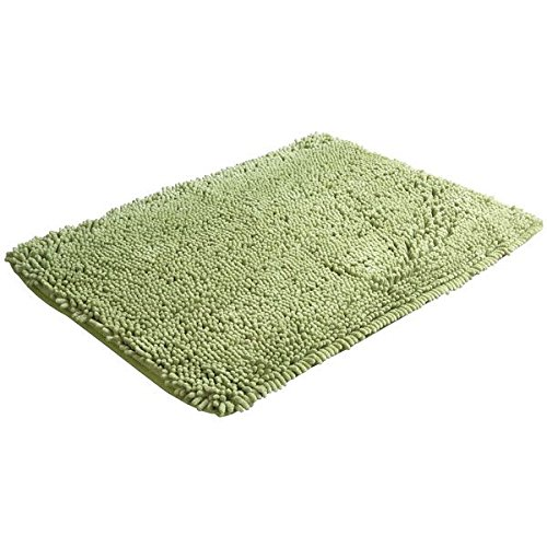 New Decor 40x60 Chenille Rug Shaggy Mat Room Floor Carpet Dust Bedroom Bathroom Rug Moss Green