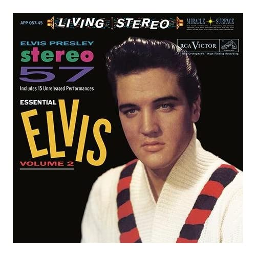 Vol-2-Stereo-57-Essential-Elvis-Analog-Elvis-Presley-LP-Record