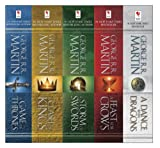 img - for George R. R. Martin's A Game of Thrones 5-Book Boxed Set (Song of Ice and Fire Series): A Game of Thrones, A Clash of Kings, A Storm of Swords, A Feast for Crows, and A Dance with Dragons book / textbook / text book
