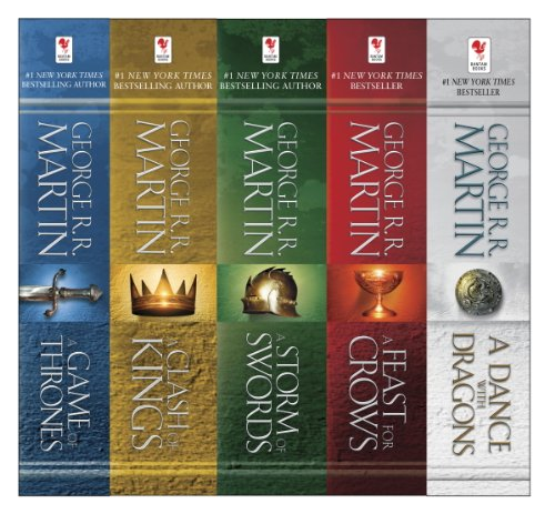 George R. R. Martin - George R. R. Martin's A Game of Thrones 5-Book Boxed Set (Song of Ice and Fire Series)
