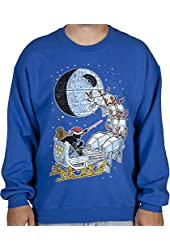 Vader Sleigh Ugly Faux Sweater