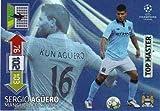 Champions League 12/13 Adrenalyn XL 2012/13 Sergio Aguero Top Master Card