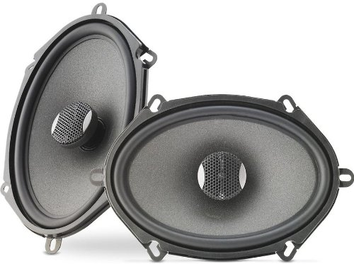 """Ic570 - Focal Integration 5""""X7"""" 2-Way Coaxial Car Speakers Ic-570"""