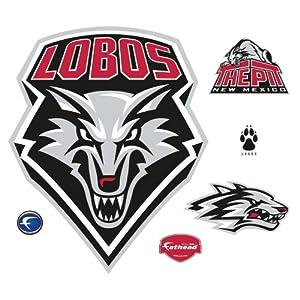 NCAA New Mexico Lobos Logo Wall Graphic