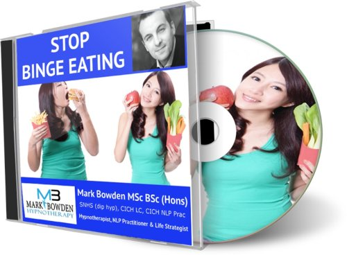 Binge Eating Hypnosis Cd - Fighting Your Natural Instinct Is Impossible, Eventually It Always Overcomes Willpower, Its Why 99%+ Of All Diets Fail Eventually. Change Your Natural Instinct So That Losing Weight Becomes Simple And Easy. Effective Weight Loss