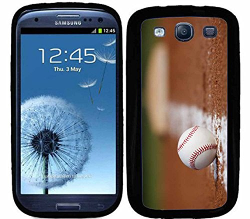S3 Baseball On Infield Chalk Line For Samsung Galaxy S3 i9300 Case Cover (Baseball Samsung Galaxy S3 Case compare prices)