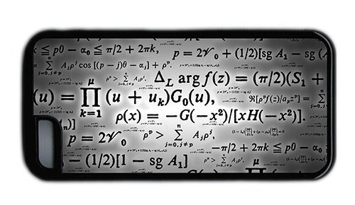 Hipster Iphone 5C Free Shipping Cover Calculation Formulae Tpu Black For Apple Iphone 5C front-883894