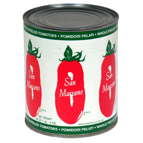 San Marzano, Whole Peeled Tomatoes, 28 oz (Canned Plum Tomatoes compare prices)