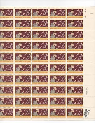 Francis of Assisi Sheet of 50 x 20 Cent US Postage Stamps NEW Scot 2023