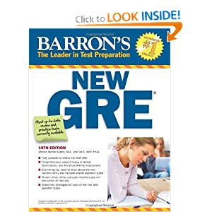 Barron's New GRE - Sharon Weiner Green M.A.