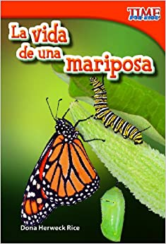 Amazon.com: La vida de una mariposa (Time for Kids Nonfiction Readers