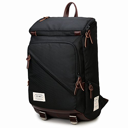 ZUMIT Multifunctional Business Backpack 13.3'' 14 inches Laptop Bag Rucksack Daypack Black #805 (Xxl Thule compare prices)