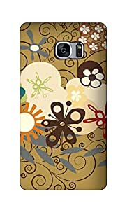 SWAG my CASE Printed Back Cover for Samsung Galaxy S7