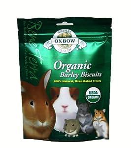 Oxbow Animal Health Barley Biscuits Bene Terra Organic Food and Treats, 2.65-Ounce