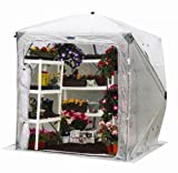 Flower House FHOH400 OrcidHouse Hub Style Greenhouse