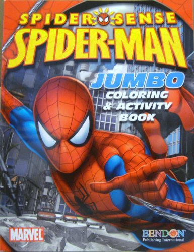 SPIDER-MAN COLORING & ACTIVITY BOOK d by Marvel - 1