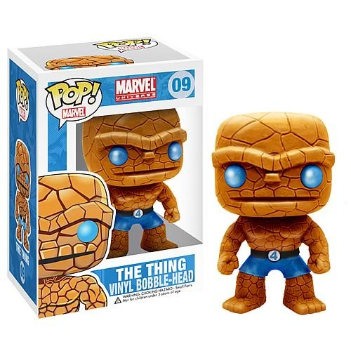 Picture of Funko Fantastic Four - The Thing Pop! Heroes - Marvel Universe - Vinyl Figure (B0055KHFAI) (Fantastic Four Action Figures)