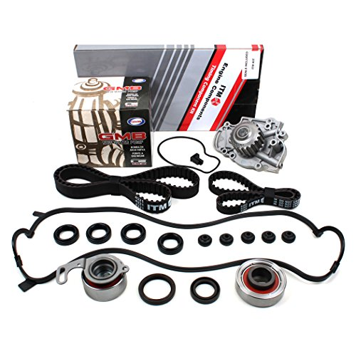 New ITM244WPVC (112 Teeth) Timing Belt Kit, Water Pump (GMB), & Valve Cover Gasket Set for F22B1 F23A VTEC (2001 Honda Accord Vtec Gasket compare prices)