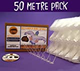 Defender Wide Plastic Bird and Pigeon Spikes - 50 Metre Pack