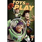 Toy Story 3 Movie (Toys at Play) Poster Print