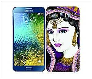 Galaxy Printed 2192 Indian Fashion Hard Cover for Samsung A7