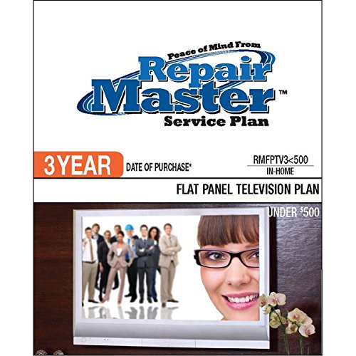 Repair Master 3-Yr Date Of Purchase Flat Panel Tv Plan - Under $500