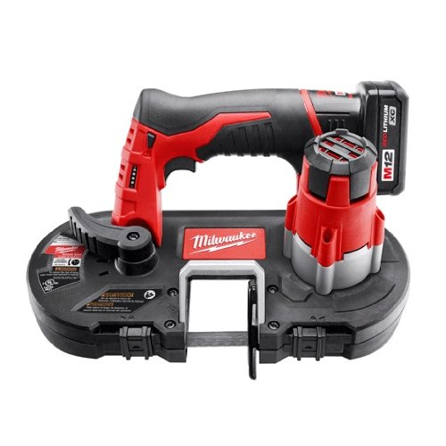 Cheapest Prices! Milwaukee 2429-20 12V Cordless M12 Lithium-Ion Sub-Compact Band Saw (Tool Only)