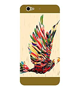 Axes Premium Designer Back Cover for Gionee S6 (-d1282
