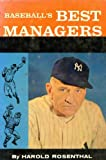 img - for Baseball's best managers (A Sport magazine library book) book / textbook / text book