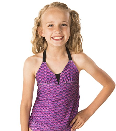 Fin Fun Mermaidens Big Girls Tankini Top | shopswell