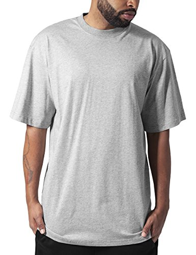 Urban Classics Tall Tee, T-Shirt Uomo, Grau (Grey 111), Large