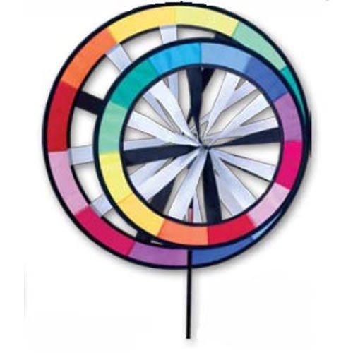 Garden Spinner - Saturn's Ring Wind Spinner - Rainbow - 1