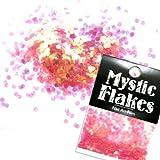 MystickFlakes オーロラピンク サークル 2mm 0.5g