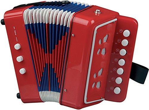 New Classic Toys - 2042839 - Instrument À Vent - Accordéon En Rouge